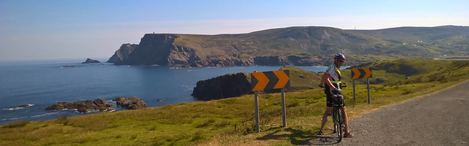 Cycling the Wild Atlantic Way in County Donegal