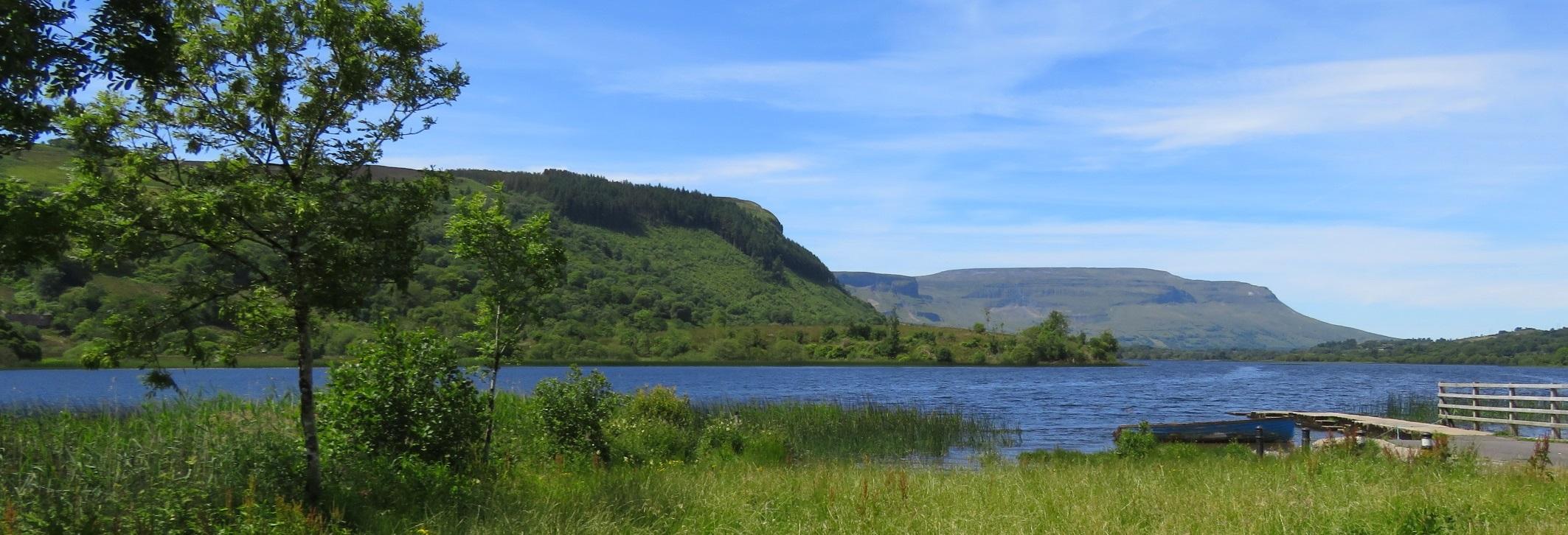 Cycling Holiday in Ireland at Glenade lake