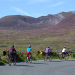 Group cycling near Sliabh Liag Ireland by Bike cycling holidays