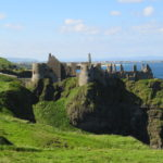 Dunluce Castle on Causeway Coast bike tour route with Ireland by Bike
