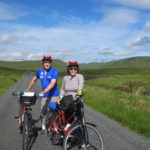 Mandy Patinkin and Kathryn Grody Highlights of the Highlands bike tour Donegal Ireland
