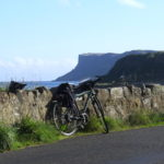 On the Road to Cushendall on Causeway Coast cycling holiday with Ireland by Bike