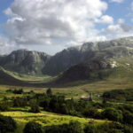 The Poisoned Glen, Donegal, Ireland is on the itinerary of the Backroads and Beyond hiking and biking tour run by Donegal owned and run company Ireland by Bike.