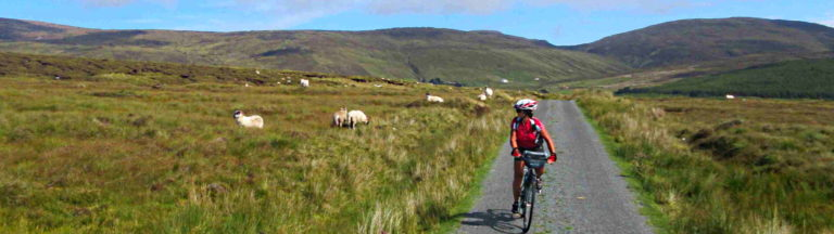 Self-guided cycling Donegal