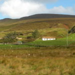 Traditional Irish Cottage near Glencolmcille County Donegal