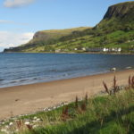 Waterfoot Beach on Causeway Coast self-guided cycling holiday with Ireland by Bike