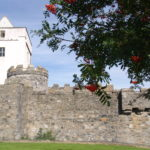 Doe Castle on North West Grand Tour. Self-guided cycling holiday with Ireland by Bike