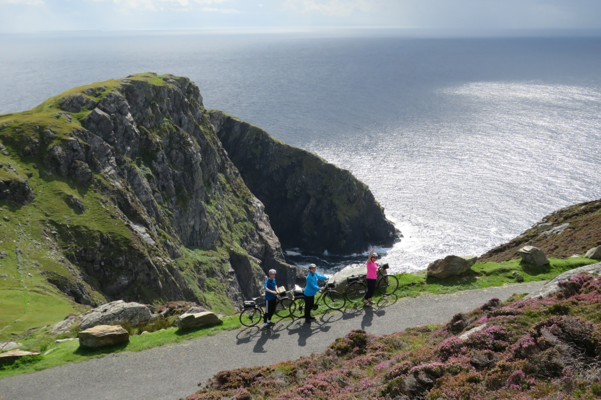 Electric Bikes at Slieve League