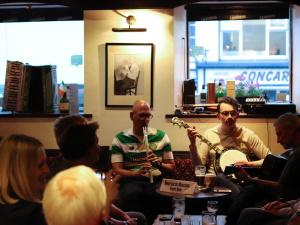 Musicaians, Donegal, Ireland