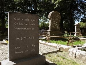 Cycling Tour at Yeats' grave Sligo
