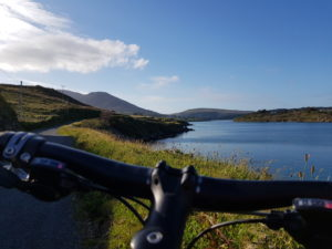 Scenery along the route of Ireland by Bike tours