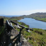 Bicycle overlooking Teelin Bay with Treasures of Coast and History cycling tour