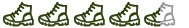 Hiking Boot Symbol Challenging Tour