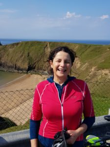 Nora Gallagher, Joint Owner at Ireland by Bike who are based in Donegal and have been running cycling and walking tours since 2010.