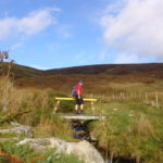 Hiking tour between Glencolmcille and Ardara in Donegal, Ireland