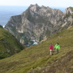 Hiking Tour Ireland between Glencolmcille and Port in County Donegal