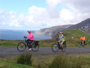 Cliffs and Glens E-bike tour provided by Ireland by Bike who are located in Carrick, County Donegal