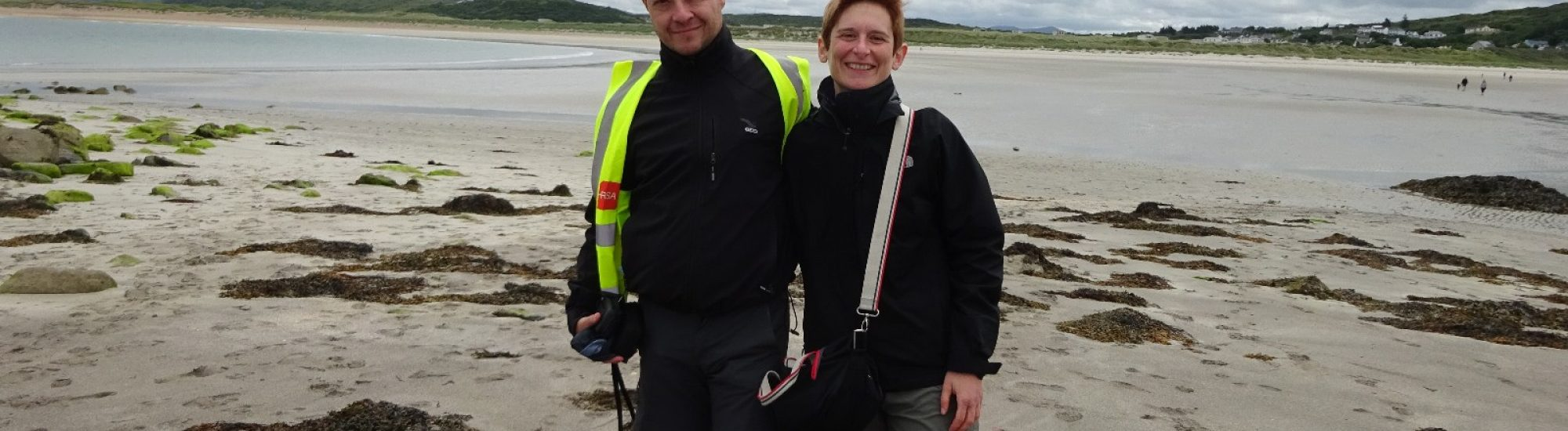 Cycling Holiday in Ireland, Simona and Marco