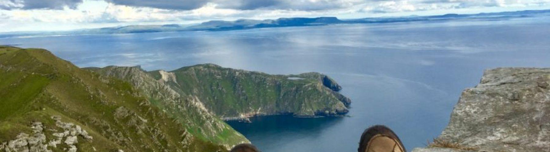 Walking on Sliabh Liag with Ireland by Bike