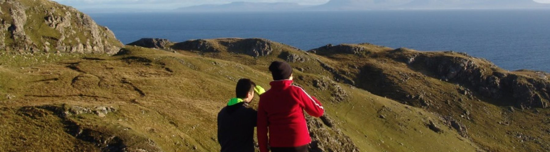 Hiking and Walking self-guided tour at Sliabh Liag, Donegal.