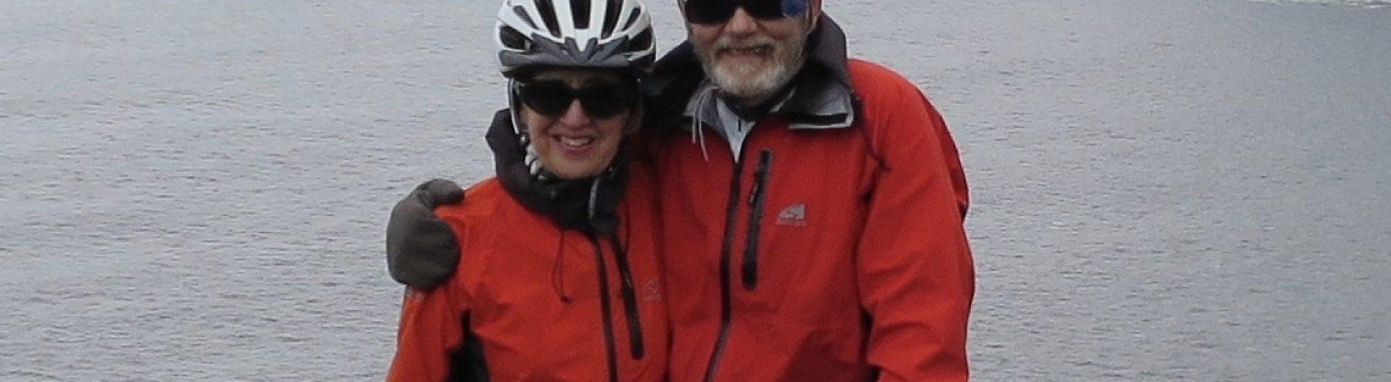 Art and Julane's Bike Tour of Donegal Ireland