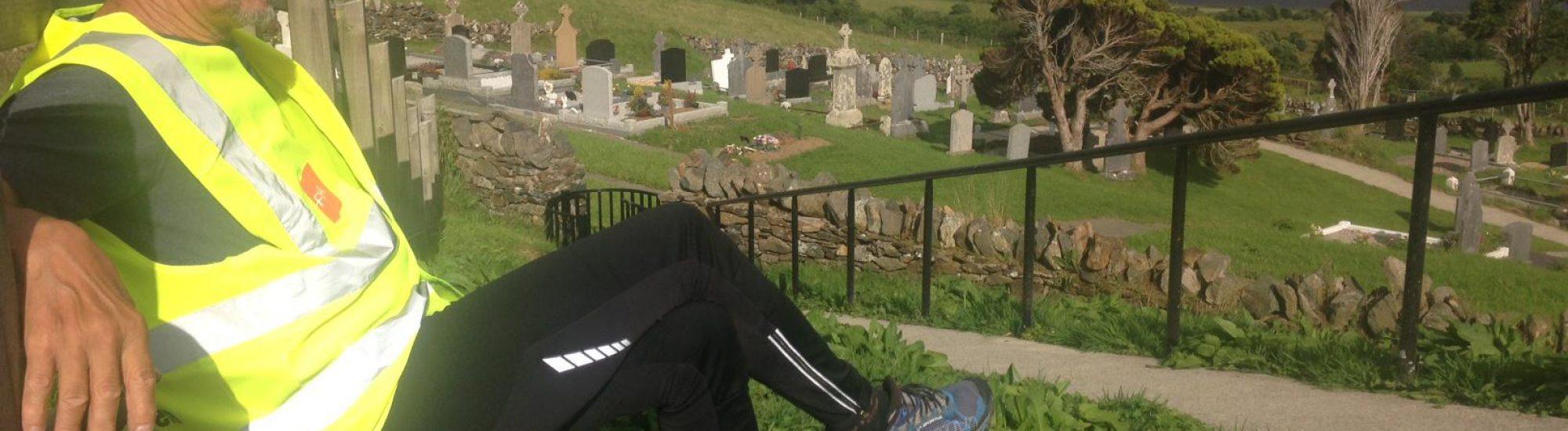 Cycling near Gartan in Donegal, Ireland